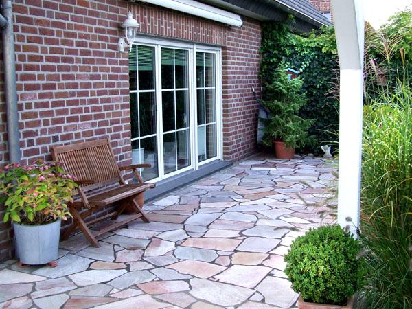Terrasse Naturstein